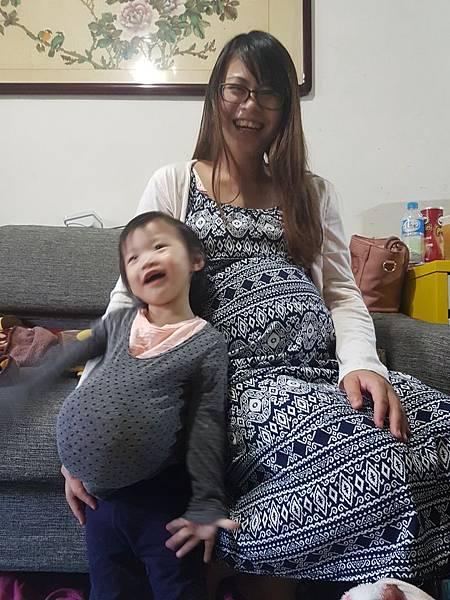 地表第二強孕婦