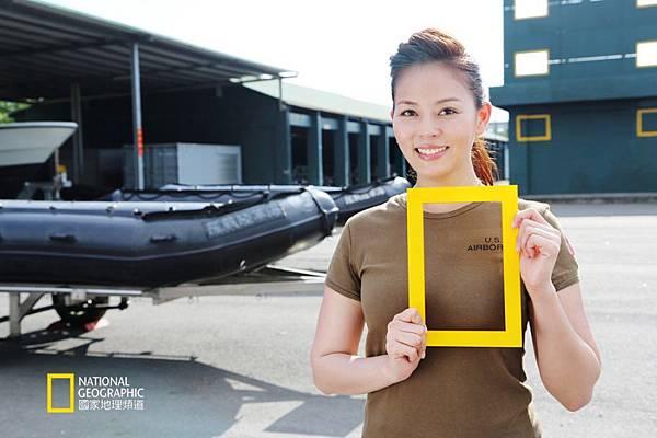 劉香慈為國家地理頻道《CQB近距離戰鬥》精選拍攝短片