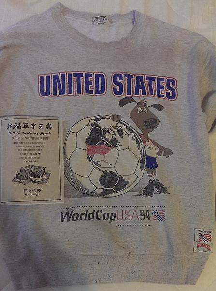 1994 World Cup郭易老師的世界杯足球球衣