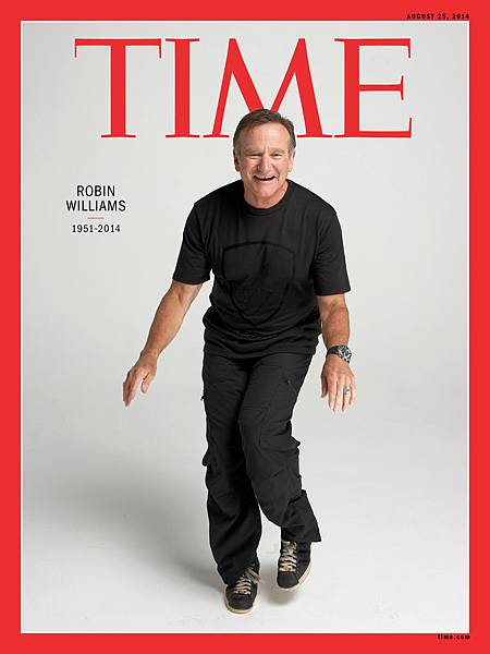 TIME Robin Williams Cover