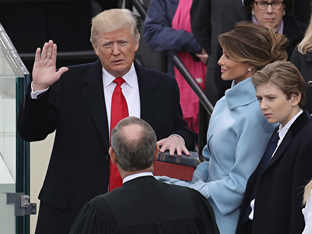 20170120美國第45任總統Donald Trump宣誓就職