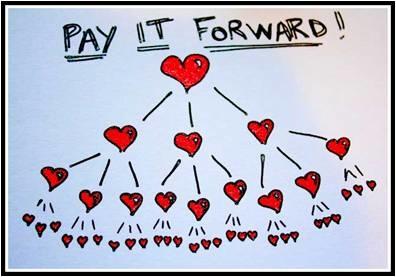Pay it forward 把愛傳出去