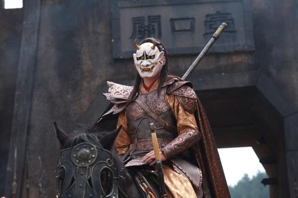 蘭陵王-戴面具嚇阻敵人