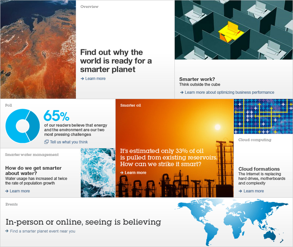 A Smarter Planet by IBM