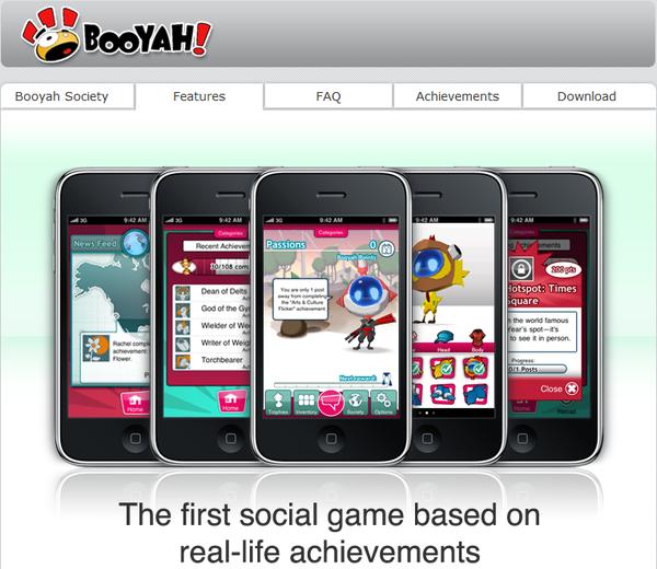 Booyah Homepage