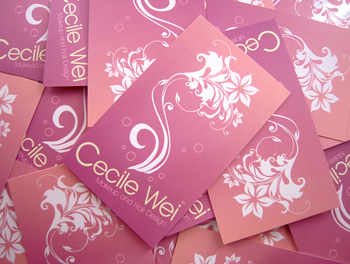 CecileWei Shop Card Design
