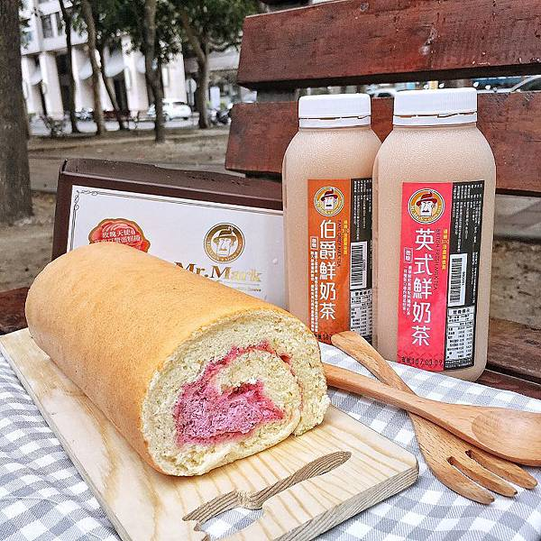 IG-demi.foodie-玫瑰天使麥豆漿蛋糕捲+台灣好茶-伯爵鮮奶茶+英式鮮奶茶-01.jpg