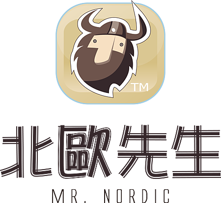 北歐先生手工甜點專賣店Logo