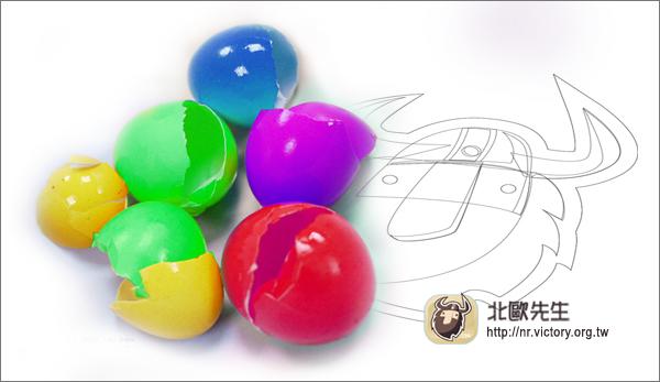 不完整的「蛋殻」可以創作出藝術價值