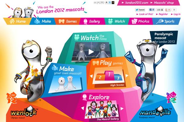 2012 英國倫敦帕運吉祥物