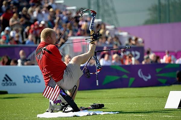 美國 Matt Stutzman 男子複合弓