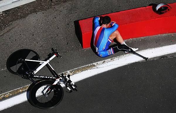 捷克 Jiri Jezek 贏得男子自由車 C4 計時賽