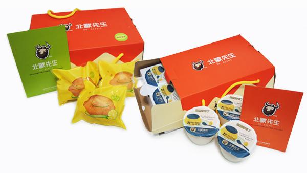 「焦煻烤布丁/鮮檸檬蛋糕」禮盒