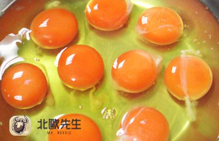 黃澄澄的「蛋黃」是「布丁」蛋香的靈魂