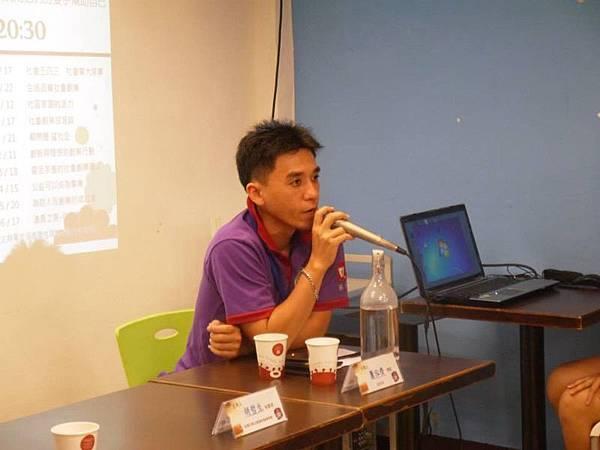 北歐先生蕭泓齊(Jackie Hsiao)總監互動中