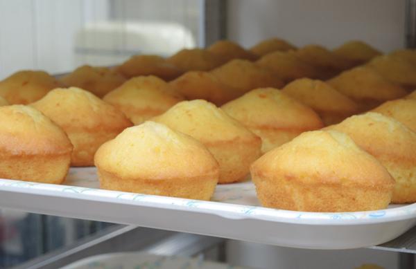 「鮮檸檬蛋糕」的烘焙成品, 是「庇護員工們」用心學習,以專注精神製作的產品, 也是「就服老師(就服員)」長久以來一點一滴的投注心力引導。