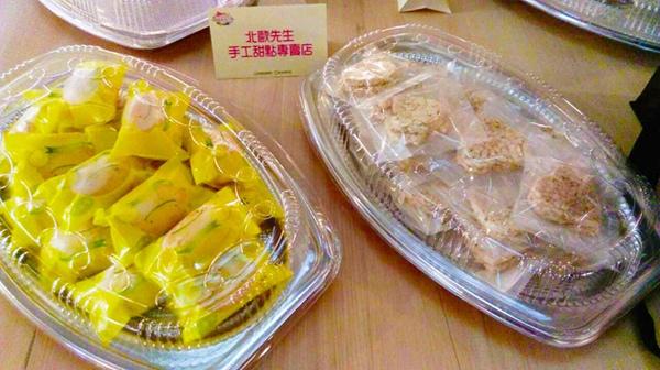 北歐先生手工「鮮檸檬蛋糕」、健康無負擔的「北歐先生脆米餅」