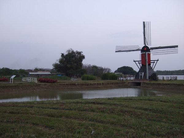 德元埤荷蘭村:{台南}德元埤荷蘭村生態休閒園區~全台第一座荷蘭風車