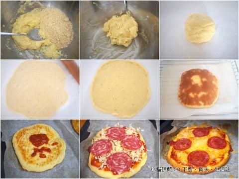 LC 義大利披薩 (沙樂美香腸) Pizza (杏仁粉).jpg
