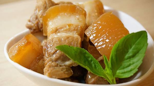 桂花魚悶豬肉