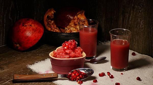 辣味紅石榴冰沙-1