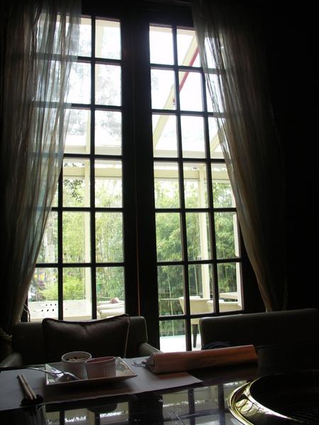 上海仙炙軒窗景
