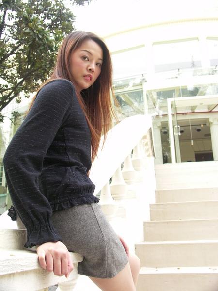 Ambrosia外拍火辣短裙高跟鞋9