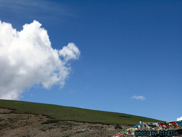 剛巴拉山頂的風馬旗-2.JPG