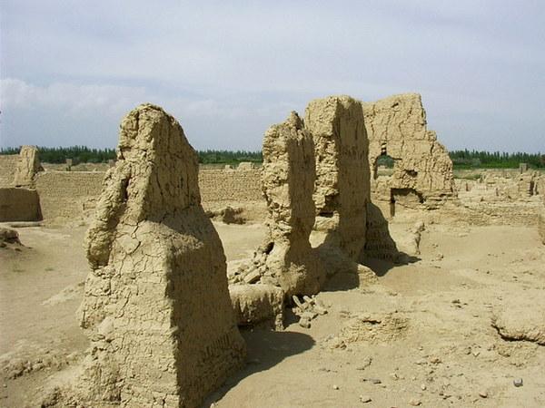 吐魯番交河故城157.JPG