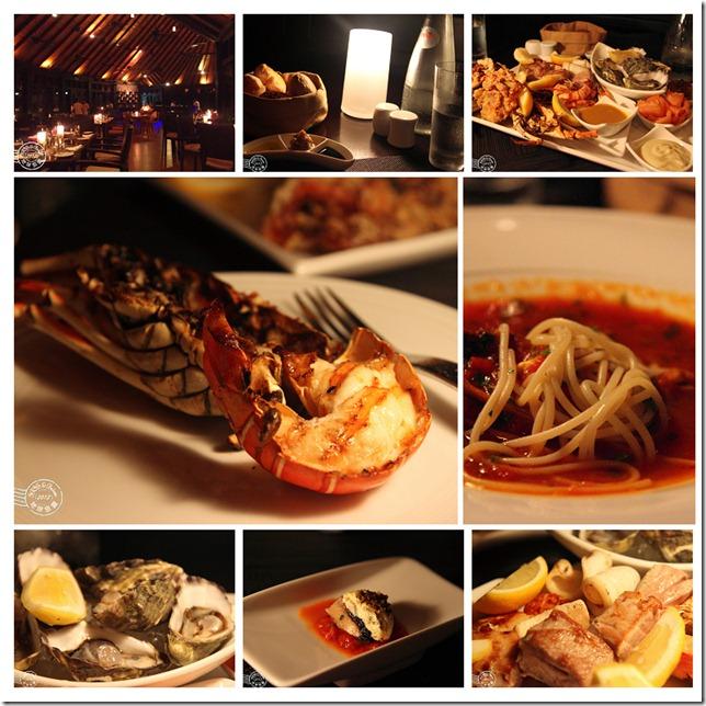 The Tri restaurant dinner