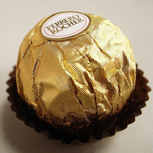 金莎巧克力
