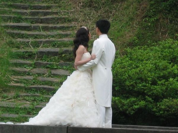 有人拍婚紗