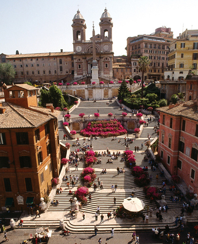 The Spanish Steps and Villa Borghese_4