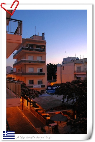 Alexandroupolis早晨