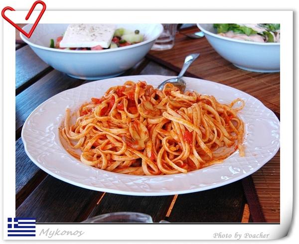午餐之紅醬義大利麵