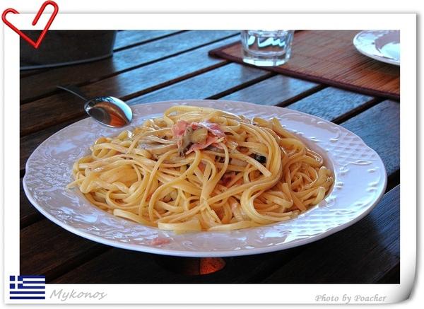 午餐之白醬義大利麵