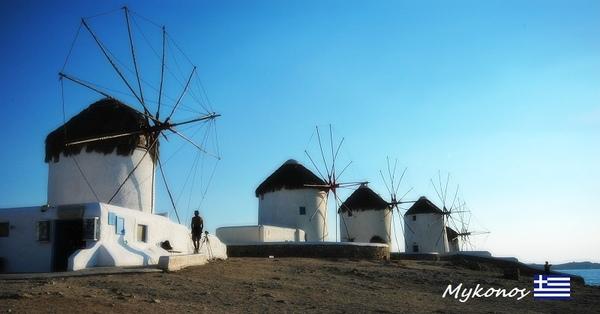 Mykonos地標