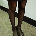 瑪榭印花褲襪