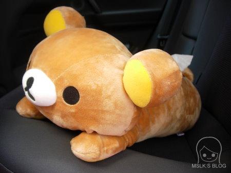 懶懶熊面紙套