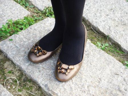 Antialee寶石娃娃鞋
