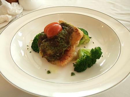 新竹「吉安諾」餐廳-蘿勒烤魴魚
