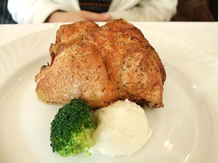 新竹「吉安諾」餐廳-法式烤春雞