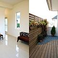 三樓房間與小陽台