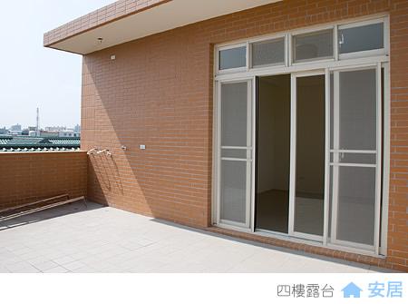 四樓外觀與露台