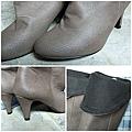 Gmarket高跟反折靴