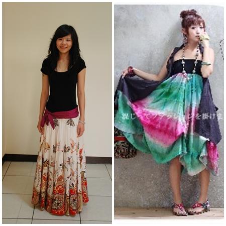 民俗風長裙