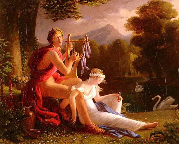 27. Ducis, Louis - Orpheus And Eurydice