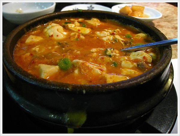 Kimchi Tofu Pot