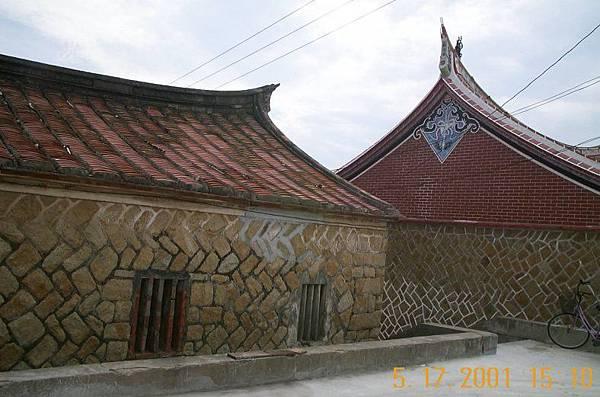 金門的古老平房
