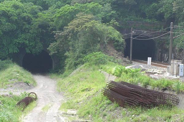 竹子嶺(竹仔寮)隧道 基隆端